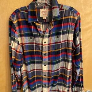 American Eagle Flannel- Men's size XS